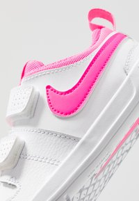 Nike Performance - PICO 5 UNISEX - Sports shoes - white/pink blast - 2