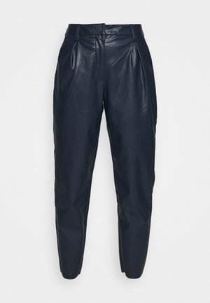CARROT LEG TROUSER - Trousers - dark navy