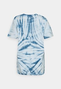 ONLY - ONLLEA TIE DYE - Print T-shirt - white/blue - 1