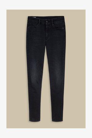 Slim fit jeans - blueblack
