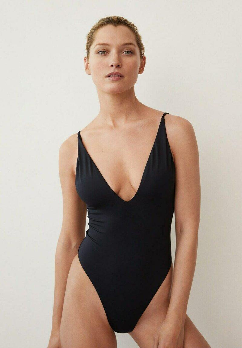 Mango - Swimsuit - svart