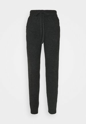 VMVELAN PANT - Tracksuit bottoms - dark grey melange