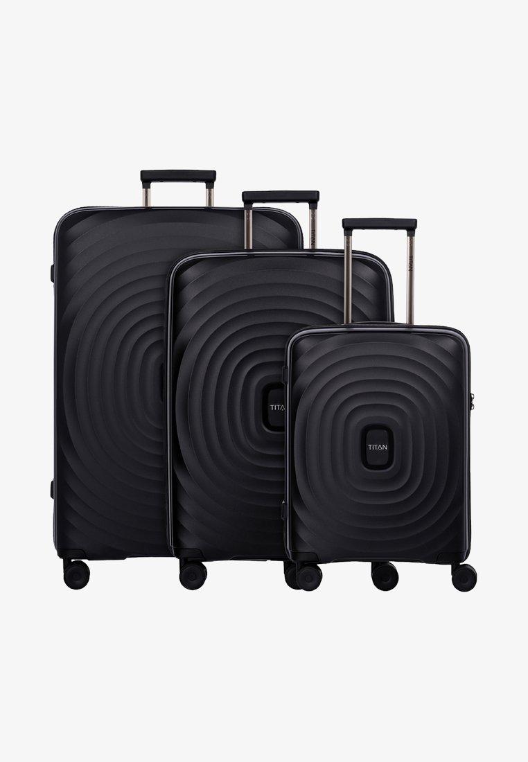 Titan - 3SET - Luggage set - black