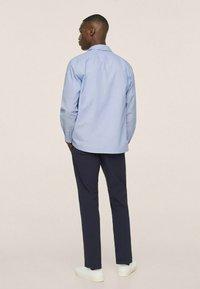 Mango - SEERSUCKER RESPIRANTE - Formal shirt - bleu - 0