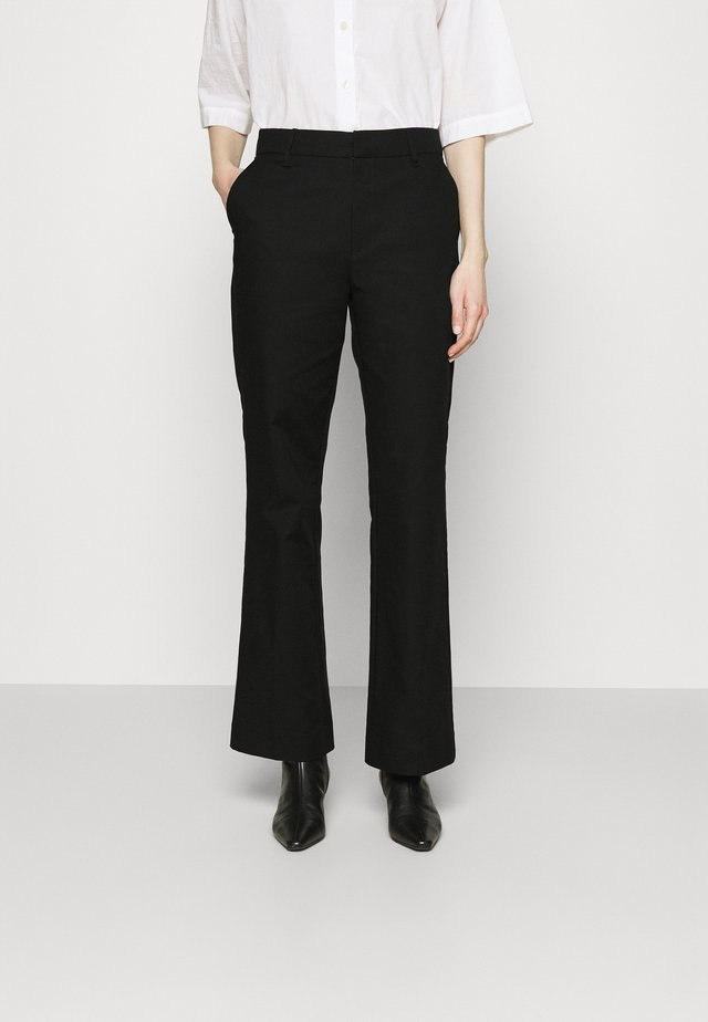 ESSENTIAL STRETCH - Pantalon classique - black