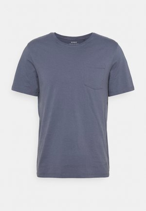 AVANDARO MAN - T-Shirt print - grey/blue