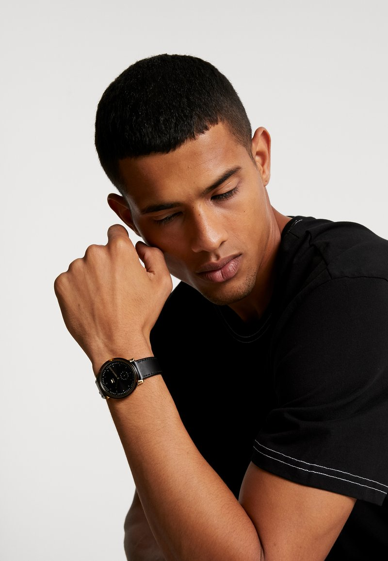 Adidas Timing - DISTRICT - Horloge - black tortoise/gold-coloured/black