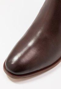 Anna Field - LEATHER BOOTS - Støvler - dark brown - 2