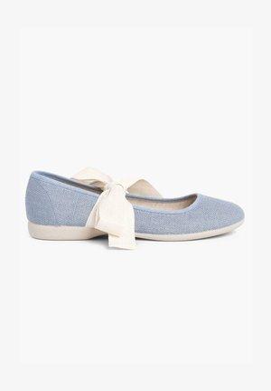 Bailarinas - azul azafata