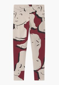 Papu - FOLD UNISEX - Leggings - Trousers - bordeaux - 1
