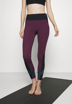 EDEAN LEGGING - Leggings - prune