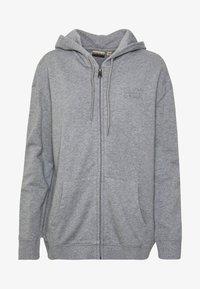 Napapijri - BICCARI - Mikina na zip - med grey mel - 4
