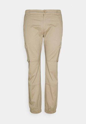 ONSCAM CUFF - Cargo trousers - chinchilla