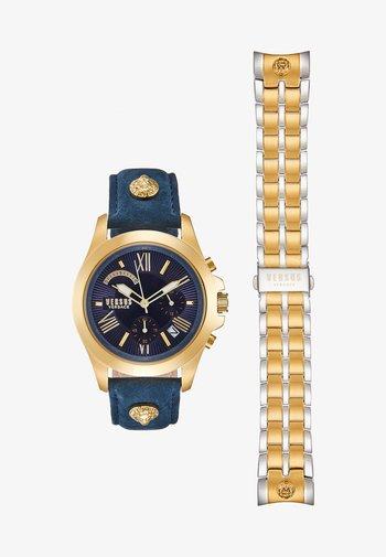 LION - Cronografo - gold-coloured/blue