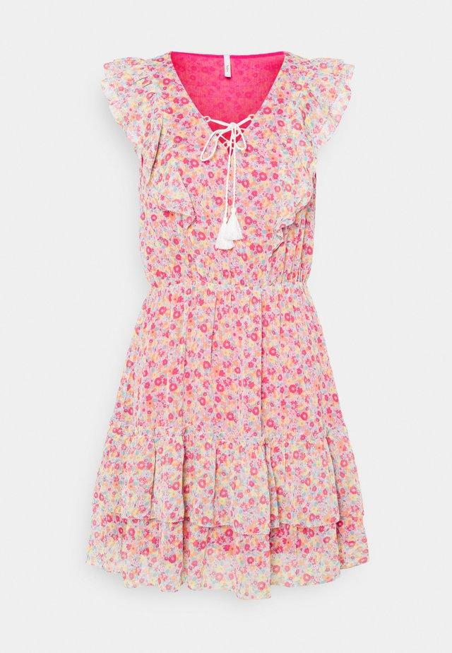 CHABELAS - Korte jurk - multicolor