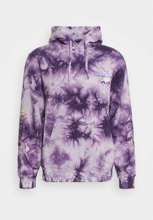 BEERUS WASHED HOOD - Sweatshirt - purple