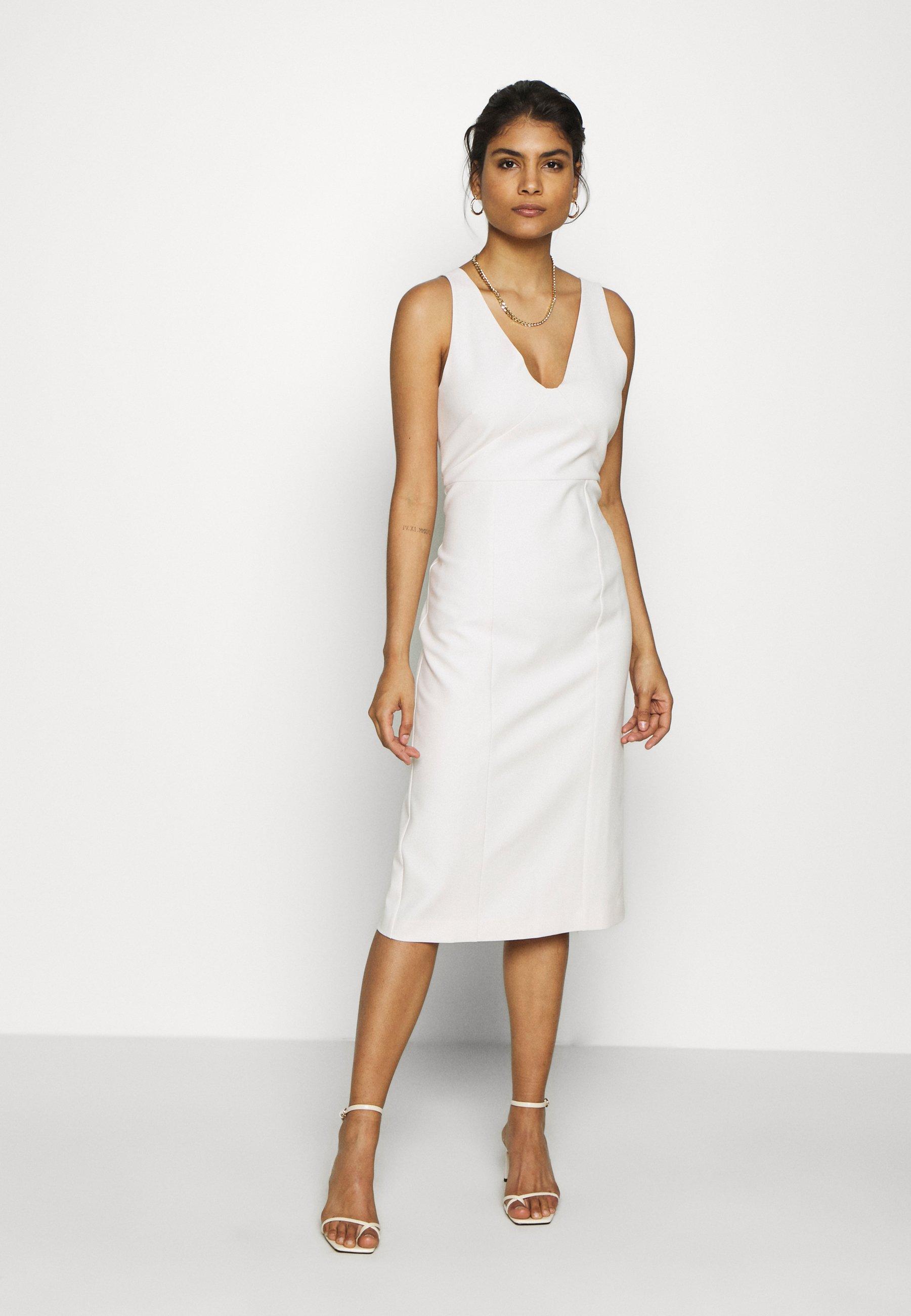 IVY & OAK - BODYCON DRESS - Vestido de tubo - vanilla