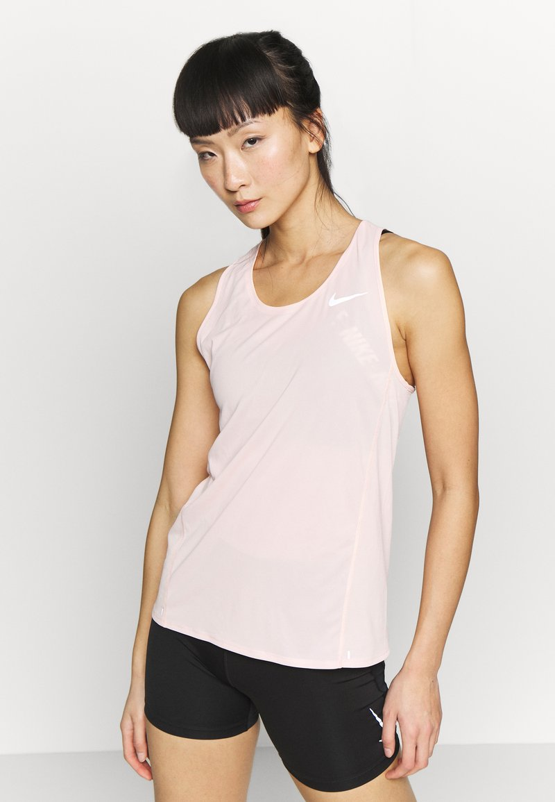Nike Performance - CITY SLEEK  - Camiseta de deporte - washed coral