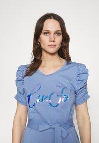 Liu Jo Jeans - ABITO UNITA - Jersey dress - bright blue wave - 3