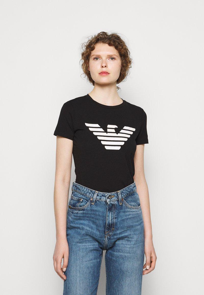 Emporio Armani - Print T-shirt - black