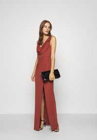 LEXI - NAIDA DRESS - Occasion wear - terracotta - 1