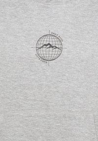 Daily Basis Studios - WORLDWIDE HOOD UNISEX - Sweatshirt - grey marl - 2