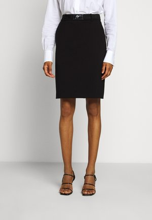 RYENA - Pencil skirt - black