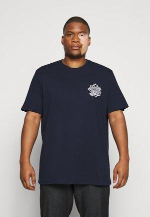 JORBRAD  - Print T-shirt - navy blazer