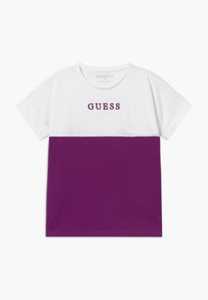 JUNIOR MIDI - Camiseta estampada - new plum light