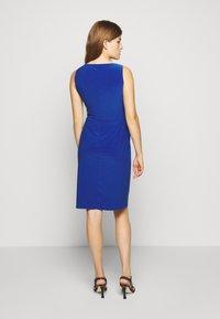 Lauren Ralph Lauren - MID WEIGHT DRESS - Jersey dress - summer sapphire - 2