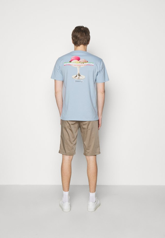 SAMUEL GELATO - T-shirt print - light blue