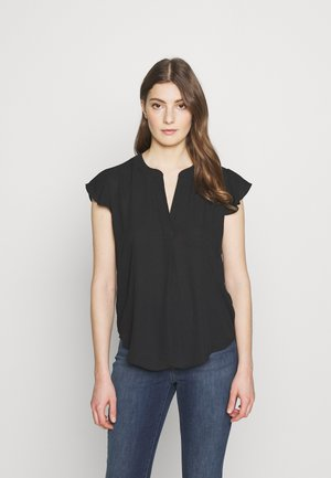 DRAPEY - Blouse - black