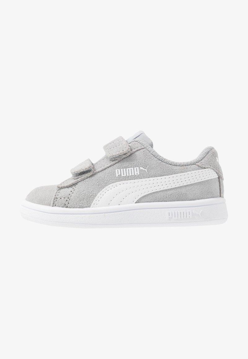 Puma - SMASH - Baskets basses - high rise/white