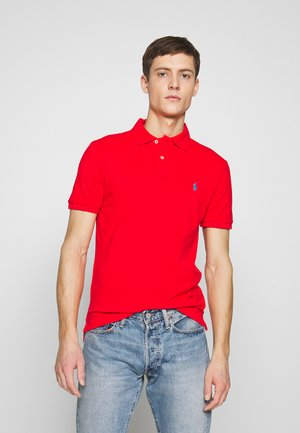 Polo shirt - african red