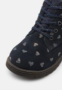 Friboo - Šněrovací kotníkové boty - dark blue - 5