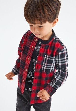 CHECK T-SHIRT SET (3MTHS-7YRS) - Koszula - red