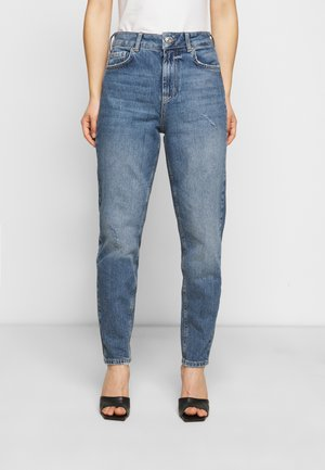 PCZOE STRAIGHT - Straight leg jeans - medium blue denim