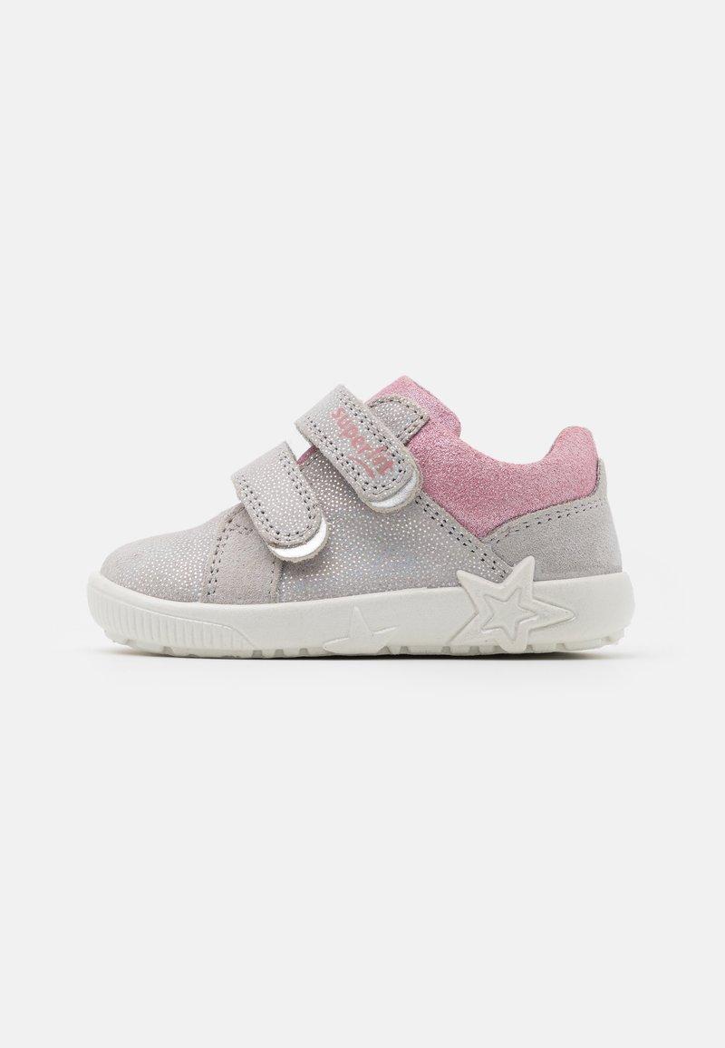 Superfit - STARLIGHT - Baby shoes - hellgrau/rosa