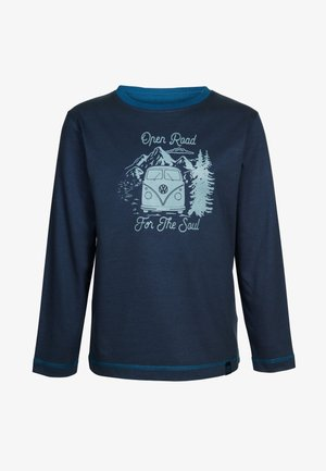 BACK TO NATURE - Long sleeved top - darkblue