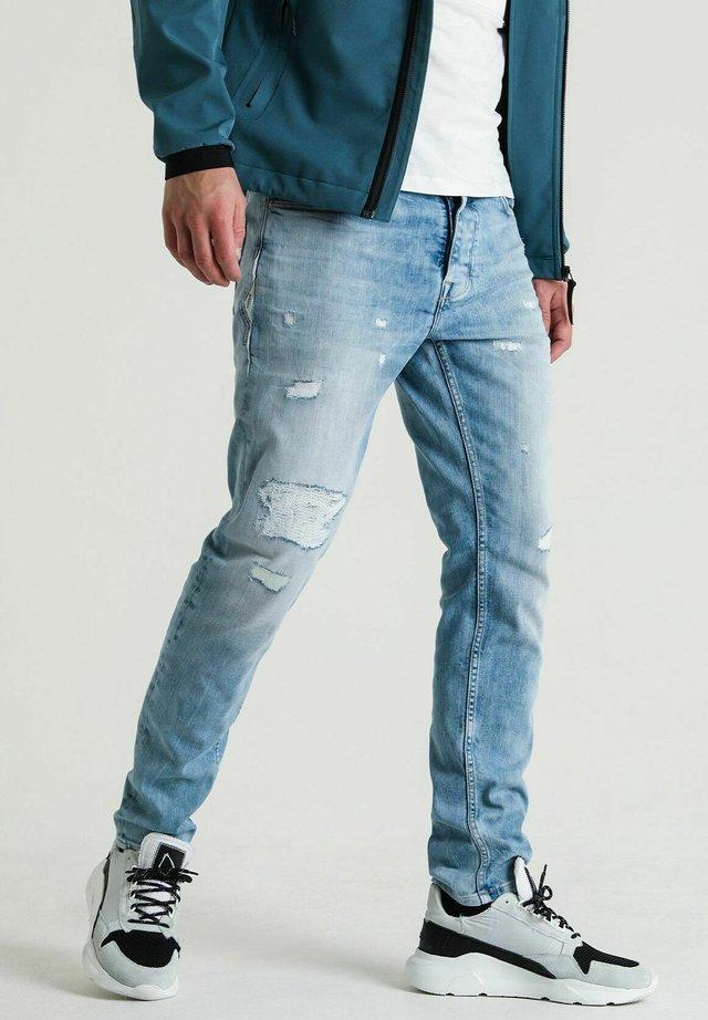 ROSS DOW - Slim fit jeans - light blue