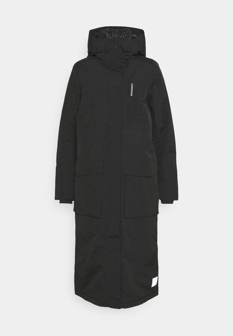 Didriksons - LEYA WOMEN'S LONG - Winter coat - black