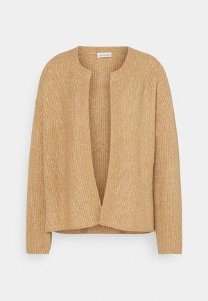 APIOS - Cardigan - sandy brown