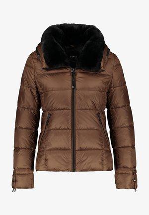 Winter jacket - truffle brown