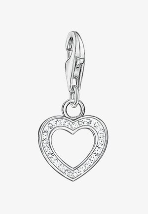 HERZ - Hanger - silver-colored/white