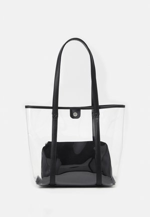 SET - Bolso shopping - transparent/black