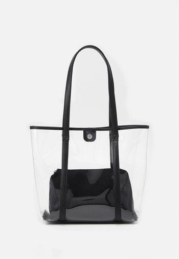 SET - Shopper - transparent/black