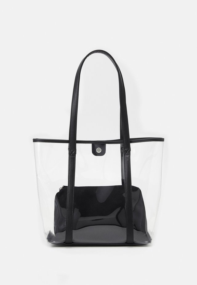 SET - Bolso shopping - transparent/black