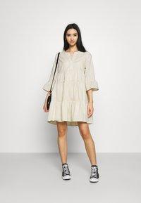 Colourful Rebel - INDY BOHO DRESS WOMEN  - Day dress - beige - 1
