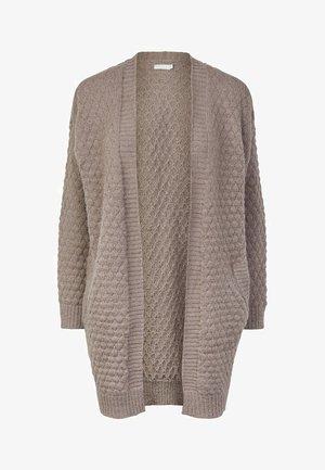 Cardigan - taupe gray