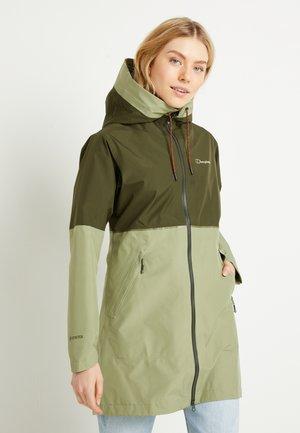 Soft shell jacket - green